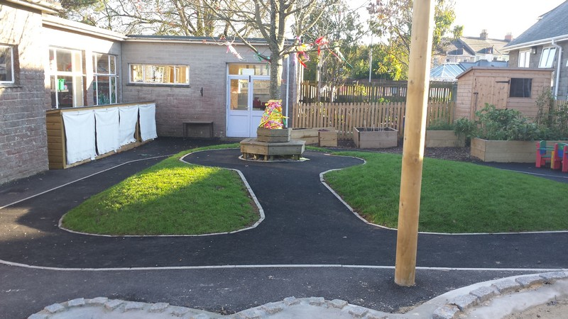 St stephens primary school – early years out door area